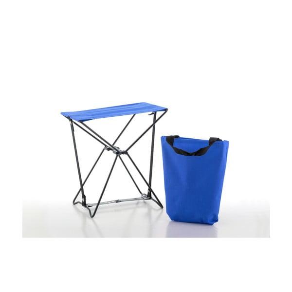 Niebieski stołek składany InnovaGoods Handy
