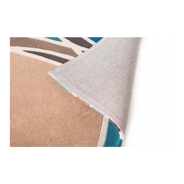 Koberec Flair Rugs Spectre Taupe/Teal, 120 x 170 cm