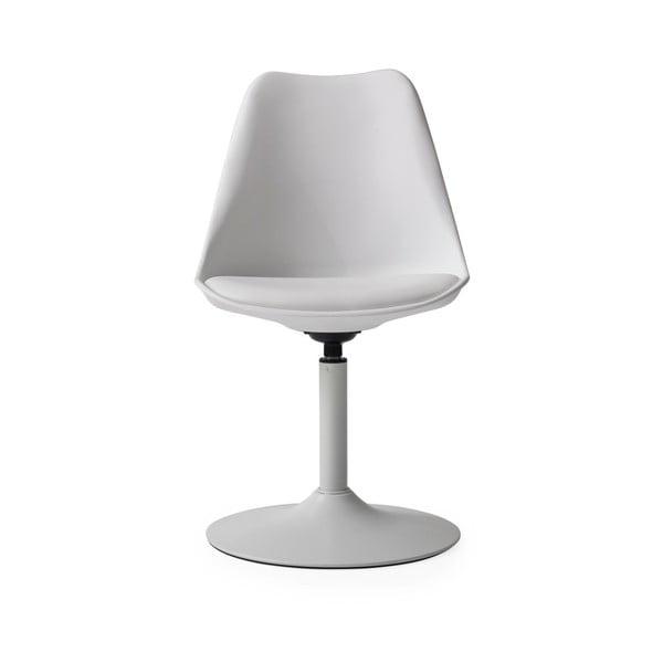 Bílá jídelní židle s bílým podsedákem Tenzo Viva