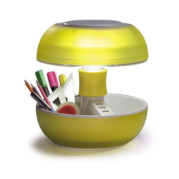 Stolní lampa a nabíječka v jednom Joyo Light, žlutá
