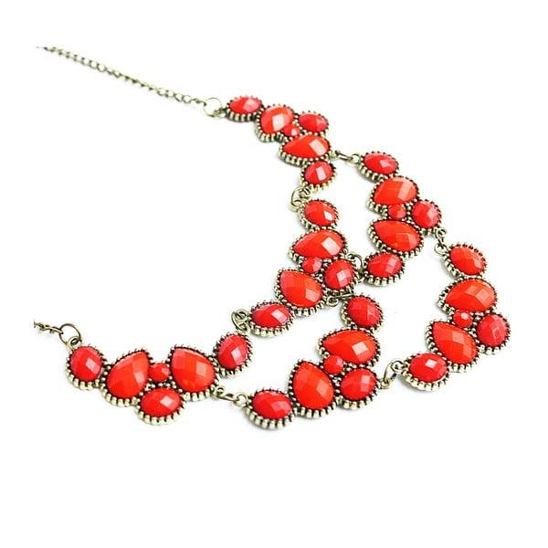 Náhrdelník Romantic Cherry Red
