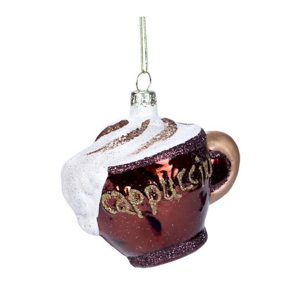 Vánoční závěsná ozdoba ze skla Butlers Capuccino