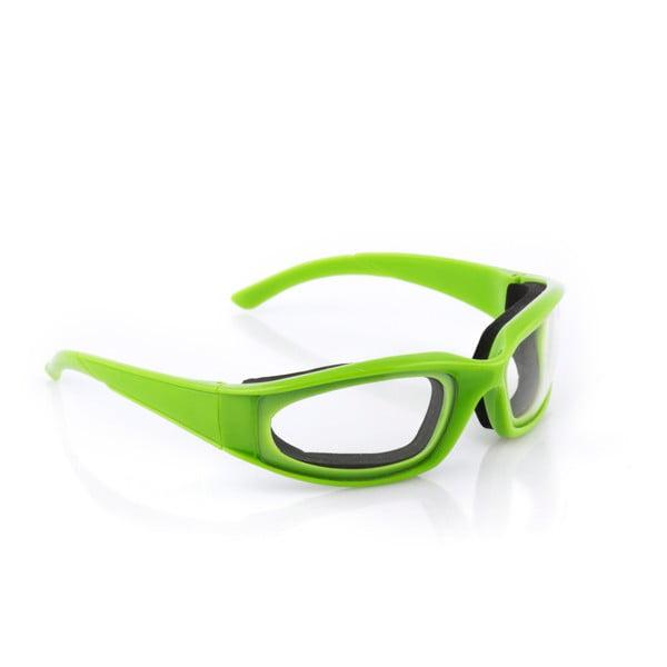 Zielone okulary ochronne do krojenia cebuli InnovaGoods