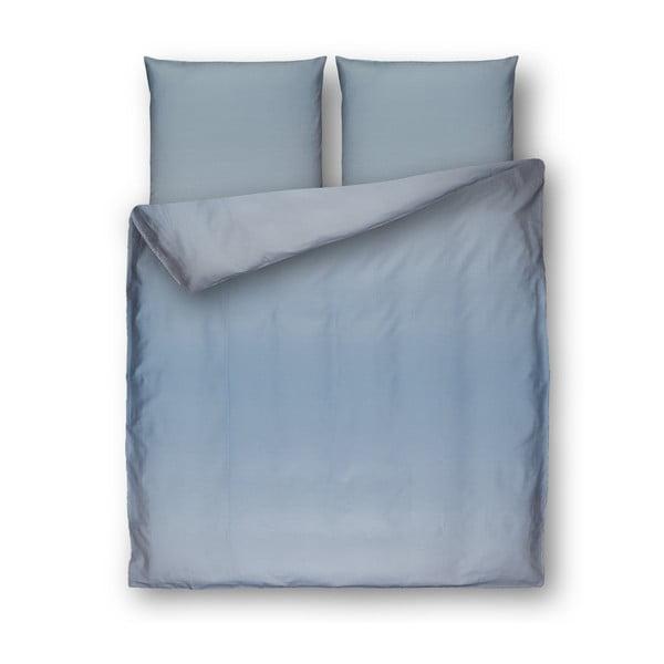 Lenjerie de pat din bumbac Casa Di Bassi Yama, 200 x 200 cm, albastru