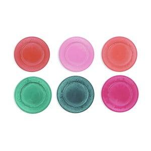 Set 6 farfurii colorate Villa d'Este