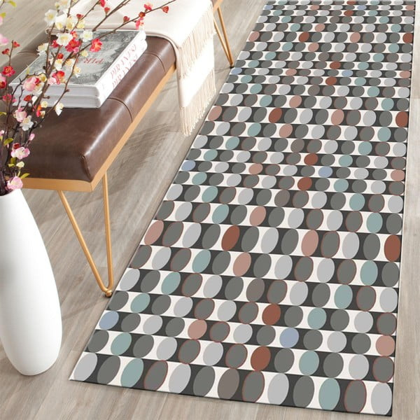 Covor Floorita Dots Multi, 60 x 140 cm