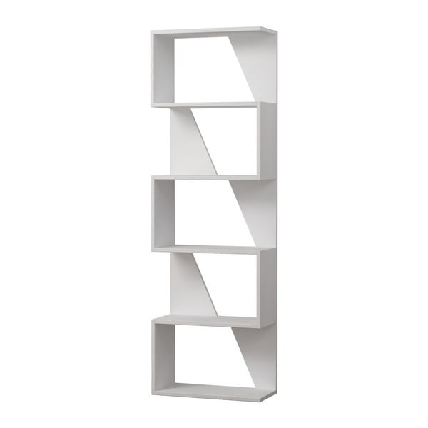Frame fehér könyvespolc - Homitis