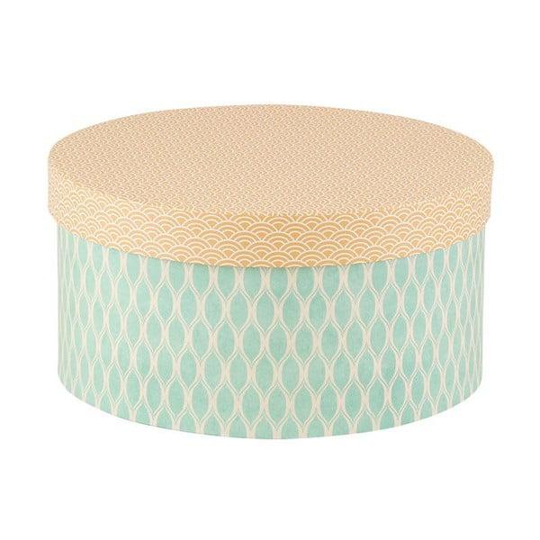 Sada 3ks úložných krabic Hat Mix