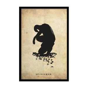 Plakát Dark Spiderman, 35x30 cm