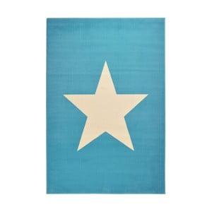 Dětský světle modrý koberec Hanse Home Star, 140x200cm
