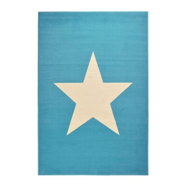 Jasnoniebieski dywan dziecięcy Hanse Home Star, 140x200 cm