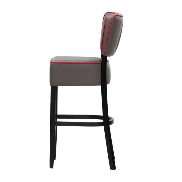 Barová židle Luie Soft Grey