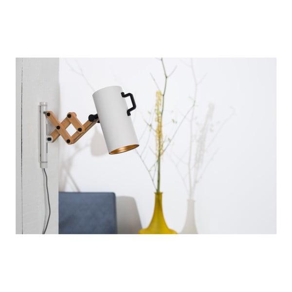 Bílá nástěnná lampa Zuiver Flex