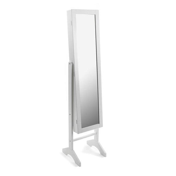 Stojací zrcadlo White Dressing, 153 cm