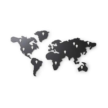 Autocolant de perete Umbra Map, negru imagine