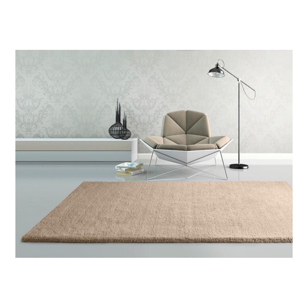 Produktové foto Béžový koberec Universal Shanghai Liso, 80x150cm