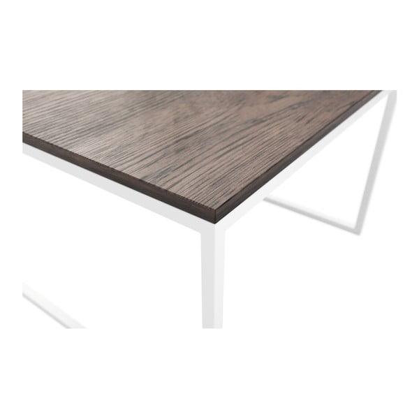Hnědý konferenční stolek MESONICA Eco