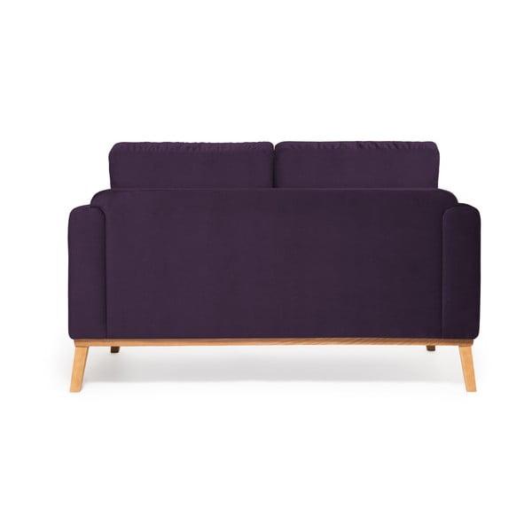 Fialová 2místná sedačka Vivonita Milton Trend