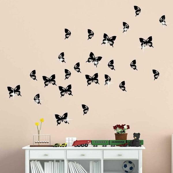 Samolepka se Swarovski Elements Butterflies