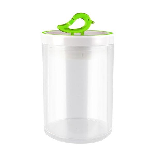 Zelená dóza Vialli Design Livio, 0,8 l