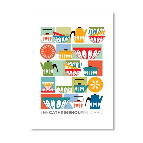 Autorský plakát Cathrineholm Kitchen