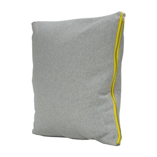 Polštář Fisura Gris Limon, 45x45 cm