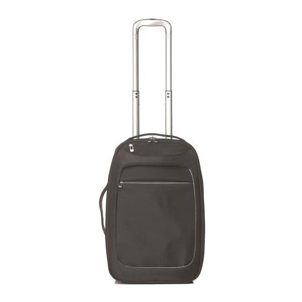 Příruční zavazadlo Milano Silver/Black