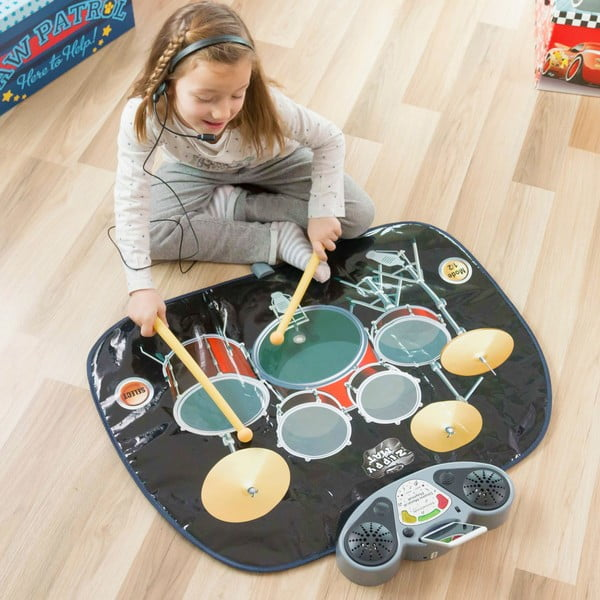 Mata dziecięca do gry na perkujsi InnovaGoods Drum Kit Playmat