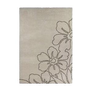 Béžový koberec Calista Rugs Venice Flower, 120x170cm