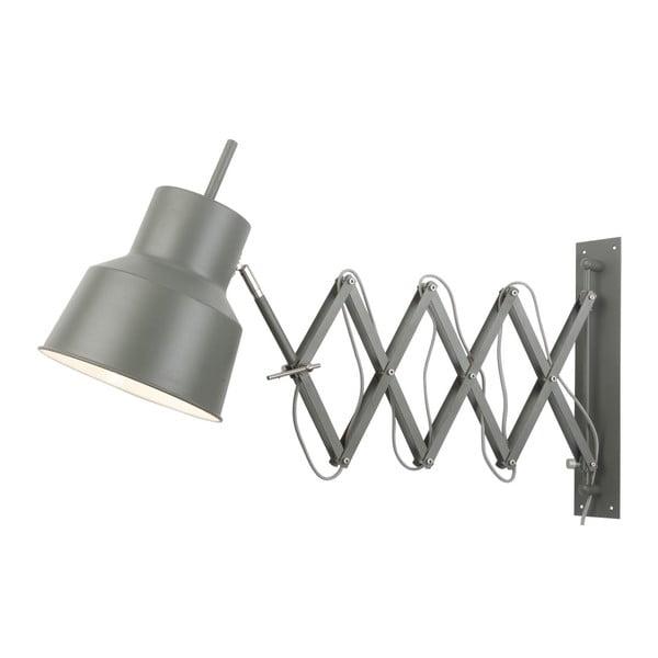 Šedá nástěnná lampa Citylights Belfast
