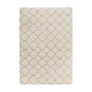 Krémovo-růžový koberec Mint Rugs Grace Creme Rose, 120x170cm