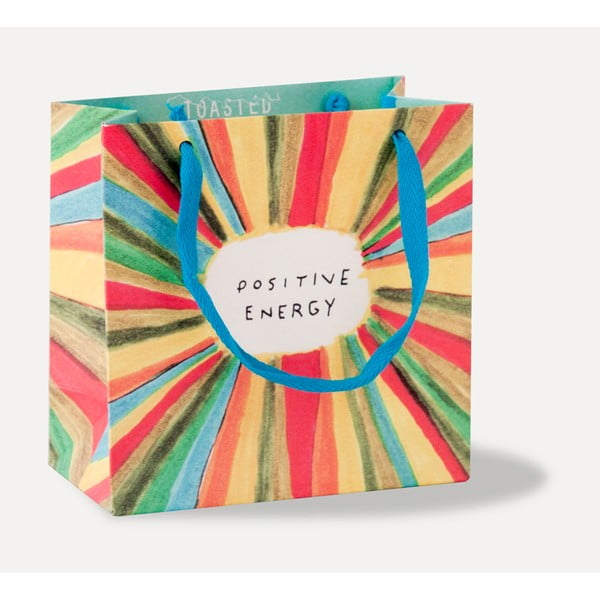 Dárková taška U Studio Design Positive Energy, 13,7 x 13,7 cm
