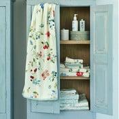 Bílý ručník Pip Studio Hummingbirds, 55x100cm