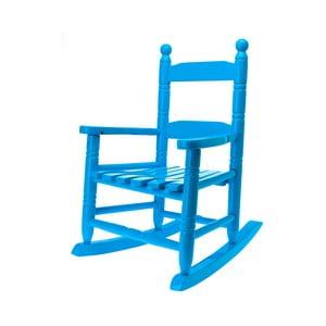 Dětská houpací židle, modrá