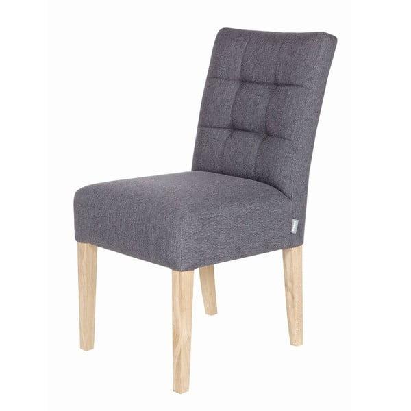 Sada 2 dřevěných židlí Tijmen Grey Oak