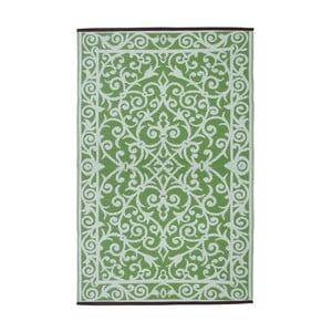 Mátově zelený oboustranný venkovní koberec Green Decore Gala, 90 x 150 cm