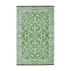 Covor de exterior față-verso Green Decore Gala, 90 x 150 cm, verde mentă