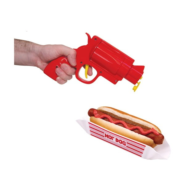 Pistole na kečup a hořčici