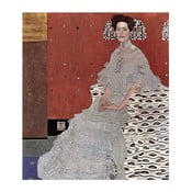 Tablou Gustav Klimt - Fritza Riedler, 80 x 70 cm