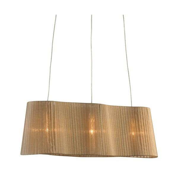 Stropní lampa Vinsingso 76 cm, béžová