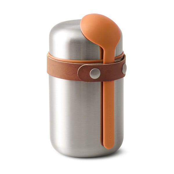 Oranžová antikoro termoska na desiatu Black Blum Flask, 400 ml
