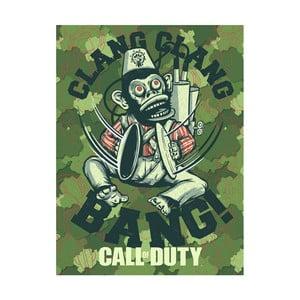 Obraz Pyramid International Call of Duty Evergreen Monkey Bomb, 60 x 80 cm