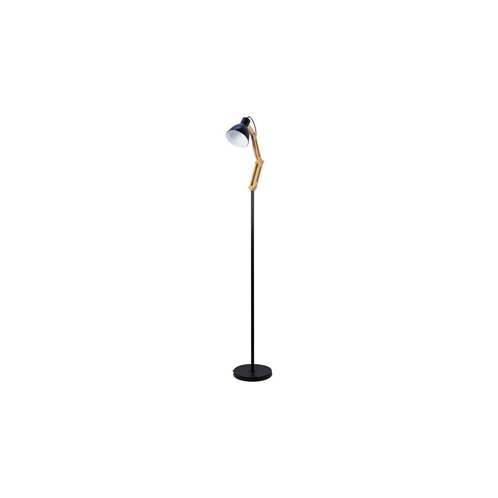 Stojací lampa v černé barvě SantiagoPons Rina