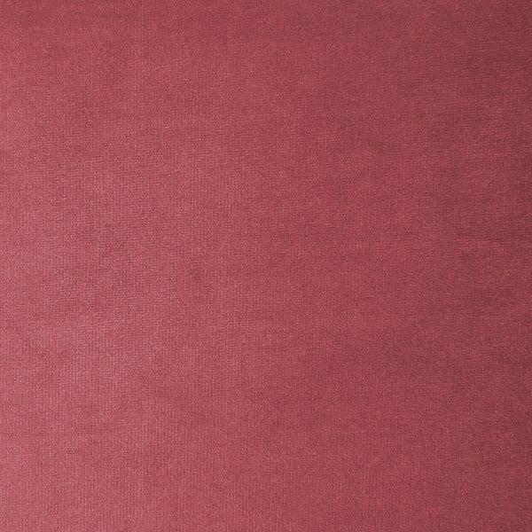Červenorůžový pravý rohový modul pohovky Vivonita Velvet Cube