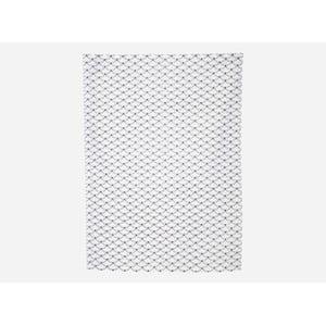 Utěrka Waves, black/white, 50x70 cm