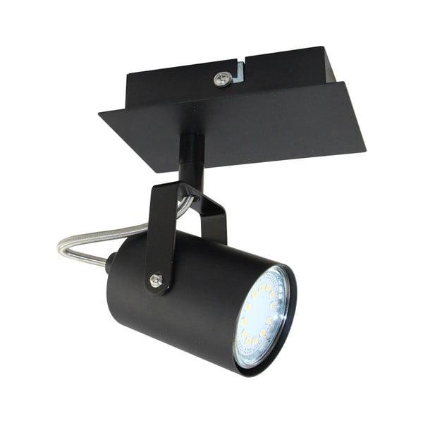 Černé stropní bodové svítidlo Kobi Arles Single