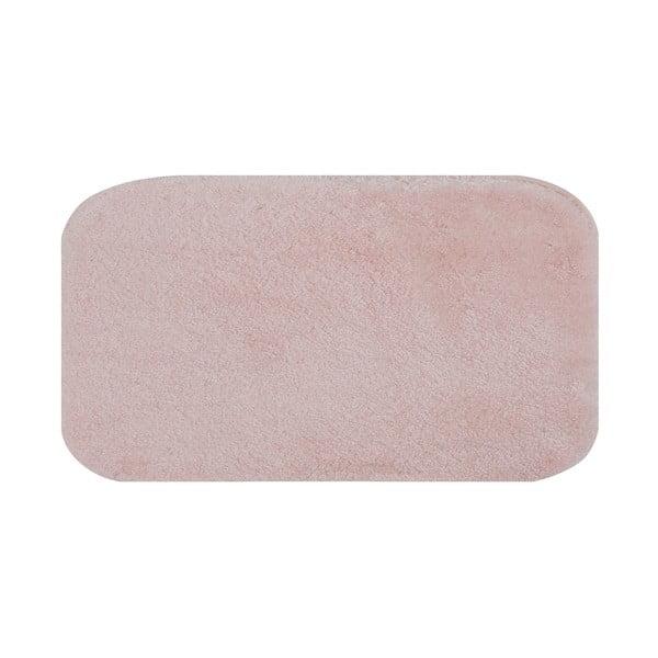 Růžová koupelnová předložka Confetti Miami, 57 x 100 cm