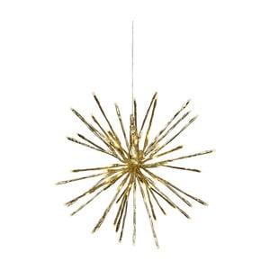 Závěsná svítící LED dekorace vhodná doexteriéru Best Season Firework, Ø 40 cm