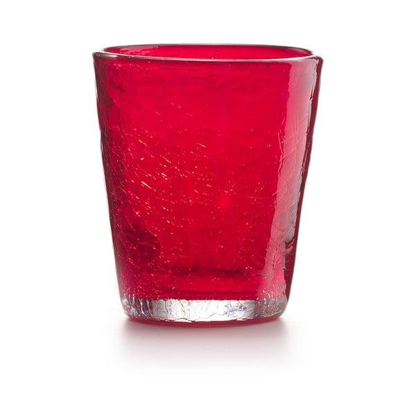 Set 6 ks sklenic Fade Ice, červený