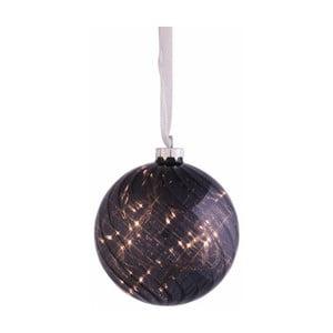 Svítící koule Turned Brown, 12 cm